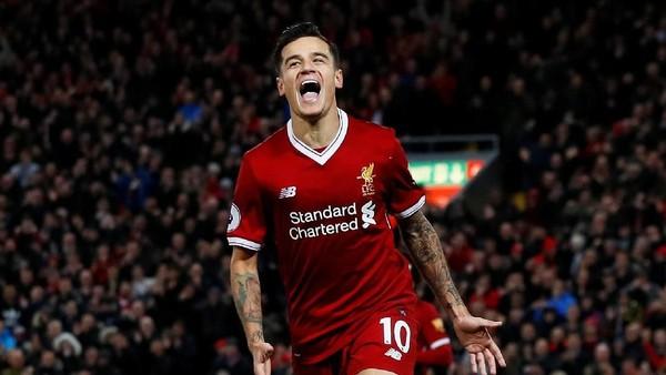 Liverpool Resmi Lepas Coutinho ke Barcelona