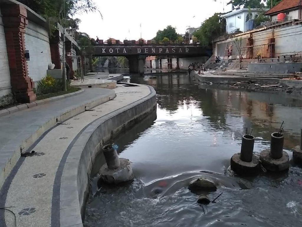 Mimpi Layaknya Cheonggyecheon, Denpasar Percantik Sungai Badung
