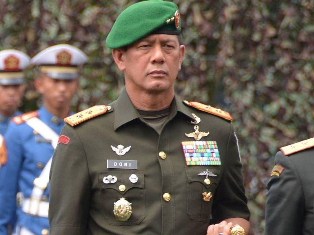 Maju Mundur Letjen Doni Monardo Jadi Kepala BNPB