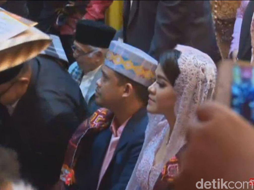 Horas! Horas! Horas! Kahiyang Putri Jokowi Resmi Jadi Boru Siregar