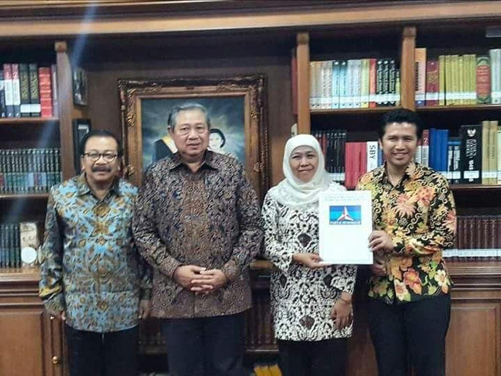 Momen Politik Khofifah: Disentil Wapres JK, All Out Didukung SBY