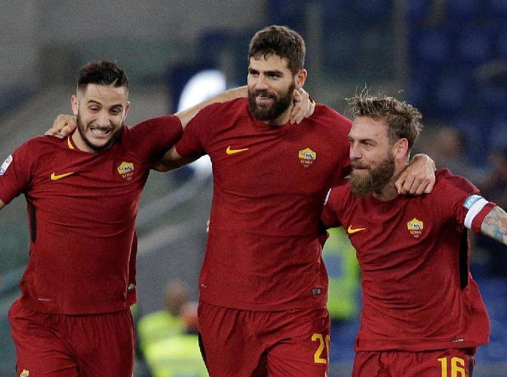Roma Hadapi Qarabag bak Laga Derby atau Lawan Juventus