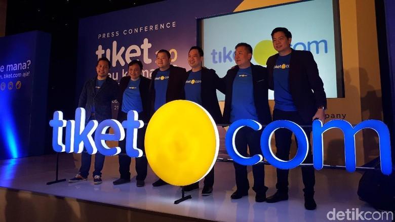 Foto: Launching logo gres Tiket.com (Shinta/detikTravel)