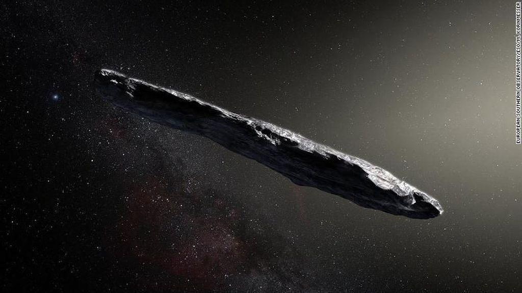 Pertama, Asteroid dari Luar Tata Surya Terpantau Teleskop Bumi