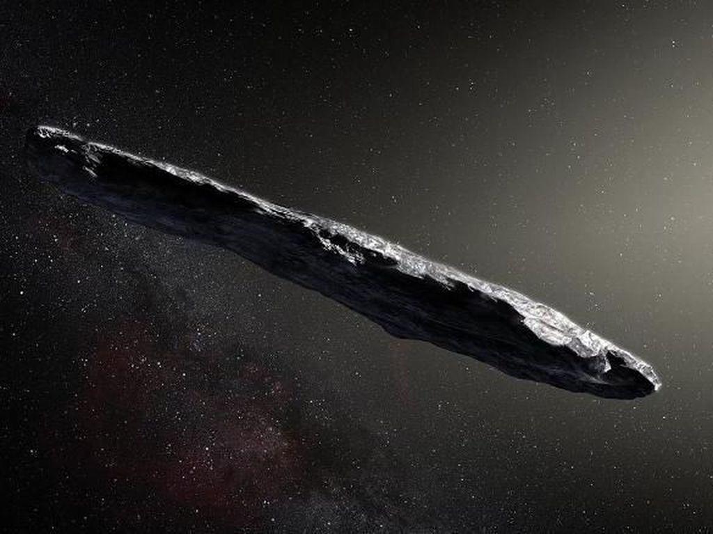 Asteroid Cerutu yang Terpantau Teleskop Bumi Diduga Pesawat Alien
