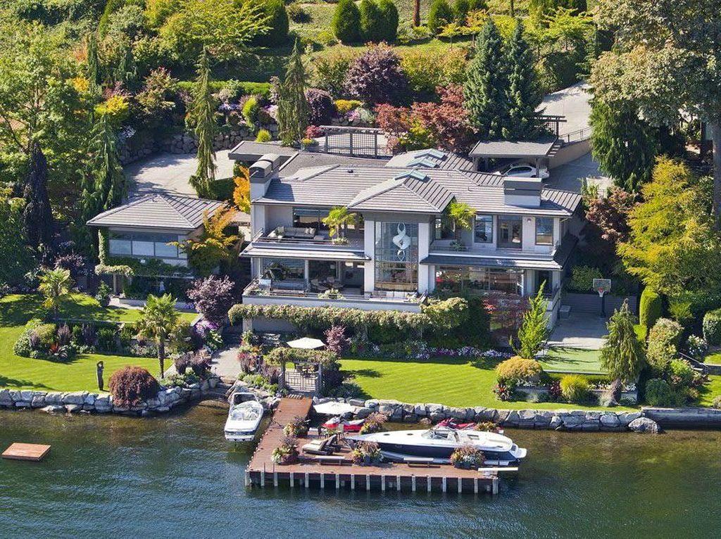 Rumah Tempat Bill Gates Karantina, Super Mevvah!