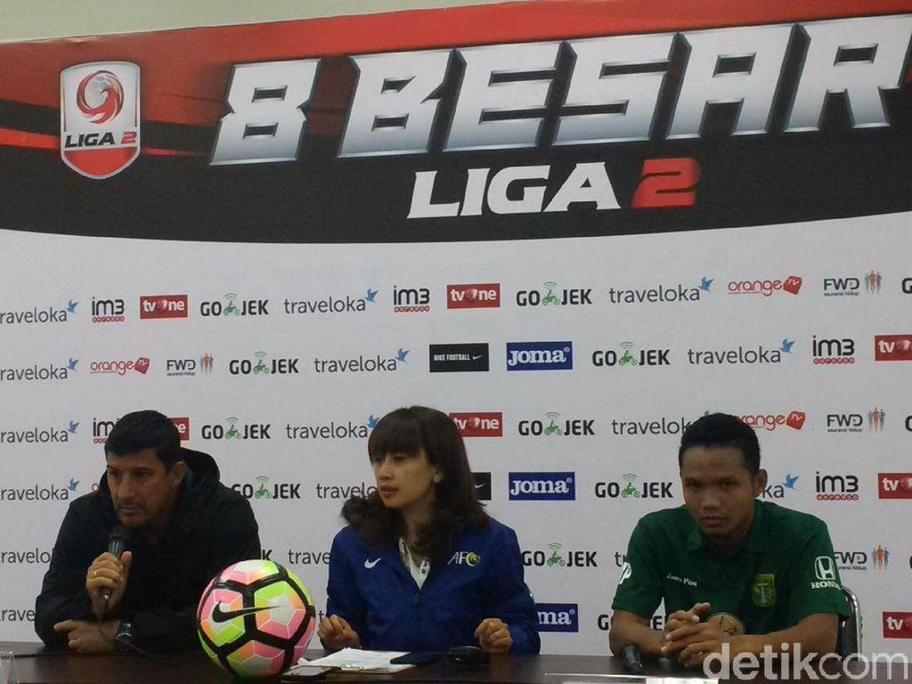 Persebaya Juara Grup Y, Hadapi Martapura FC di Semifinal Liga 2