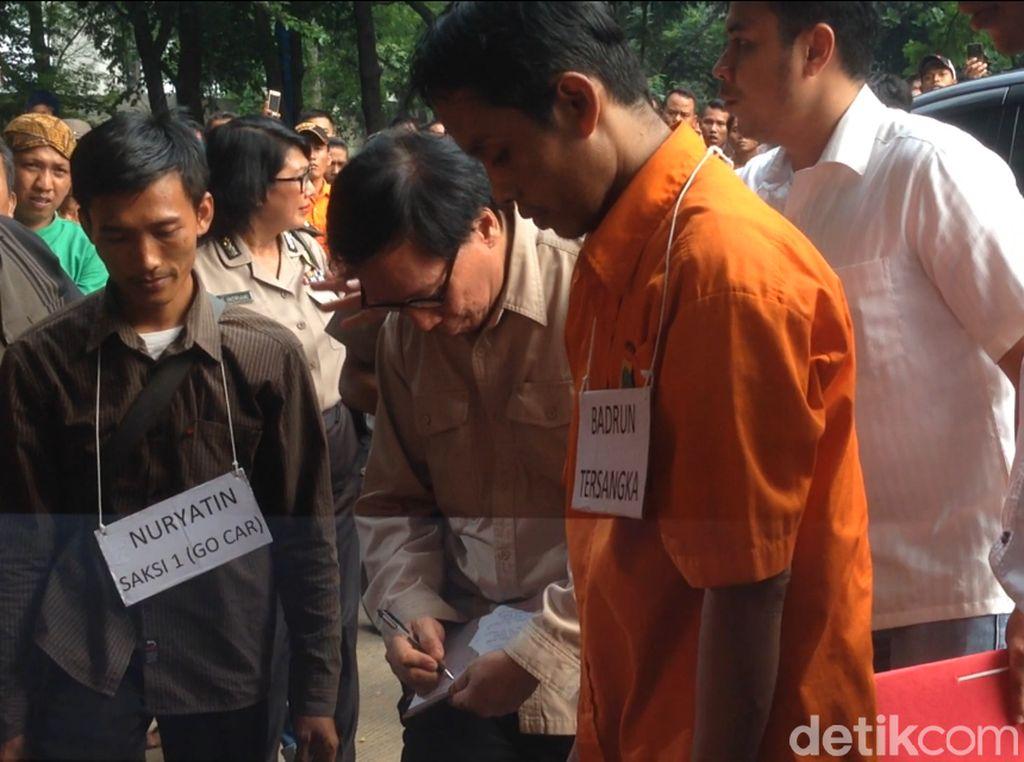 Polisi Gelar Prarekontruksi Penemuan Mayat di Terminal Kp Rambutan