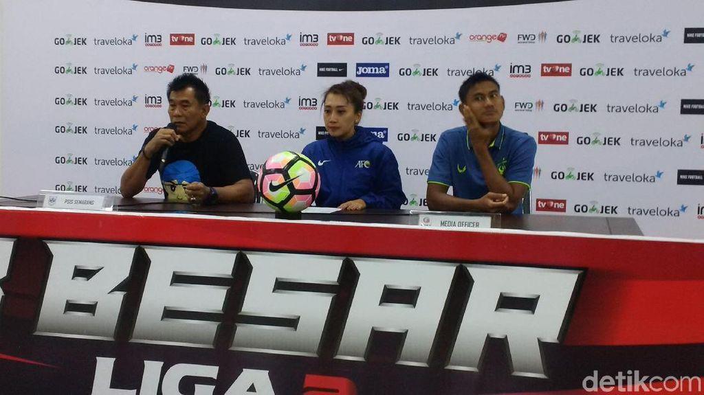 Lolos ke Semifinal, PSIS Sudah Kantongi Kekuatan PSMS