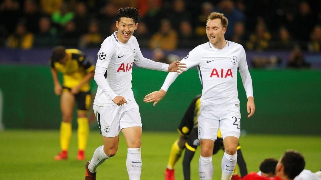 Sempat Tertinggal, Spurs Taklukkan Dortmund 2-1