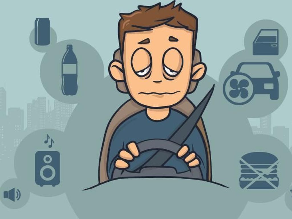 Tips Aman Hindari Kantuk saat Berkendara di Jalan setelah Rayakan Lebaran
