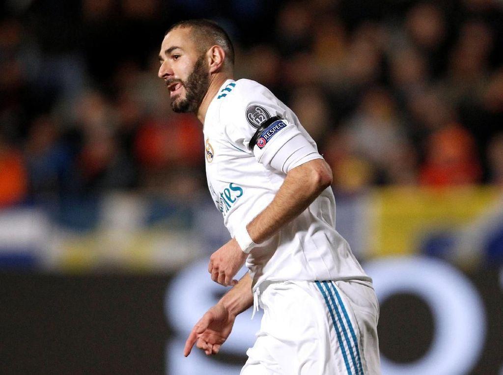 Zidane Bantah Benzema Cedera Saat Liburan