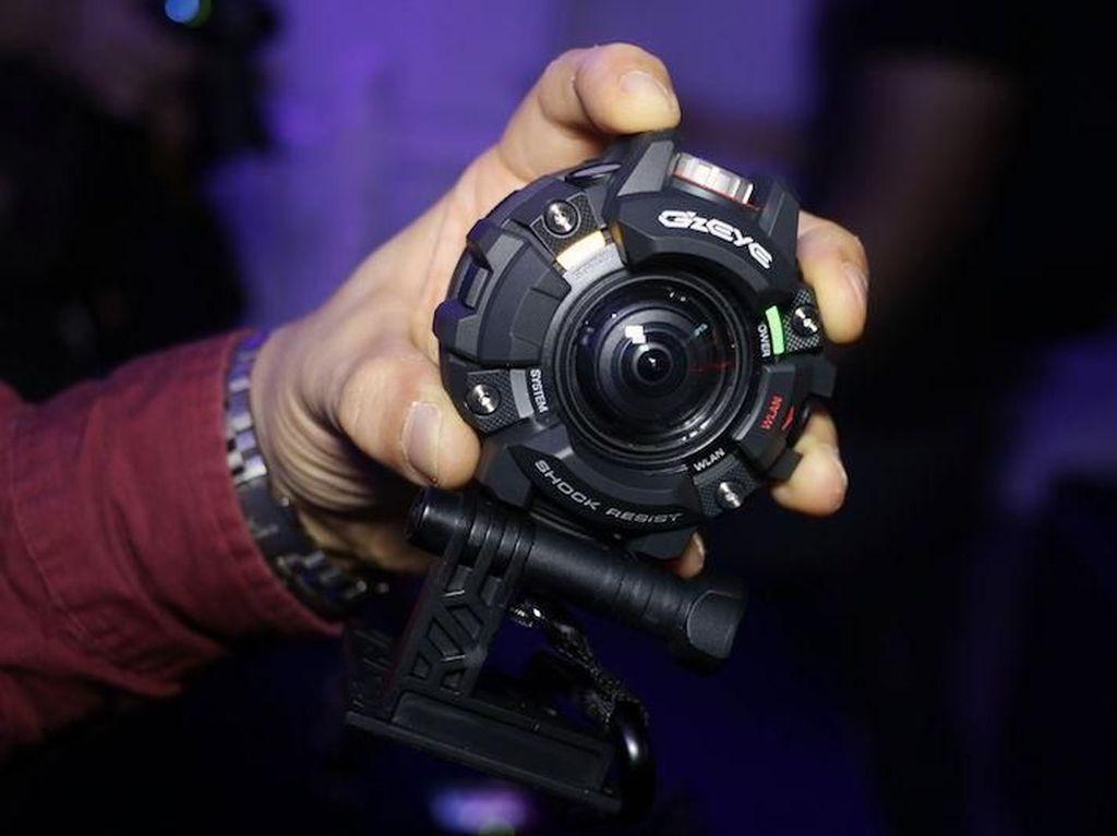 Lebih Dekat dengan Kamera Casio G-Shock