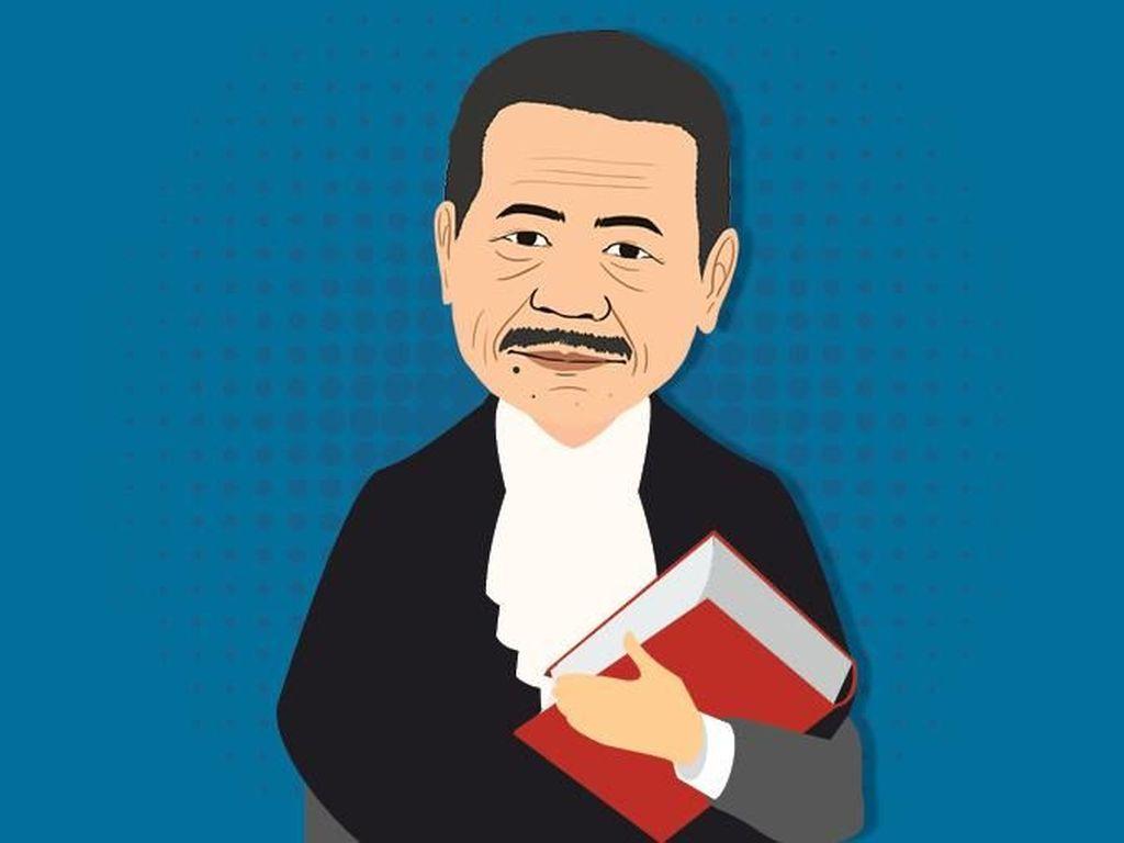 Otto Hasibuan, Ahli Hukum Dagang Pembela Setya Novanto