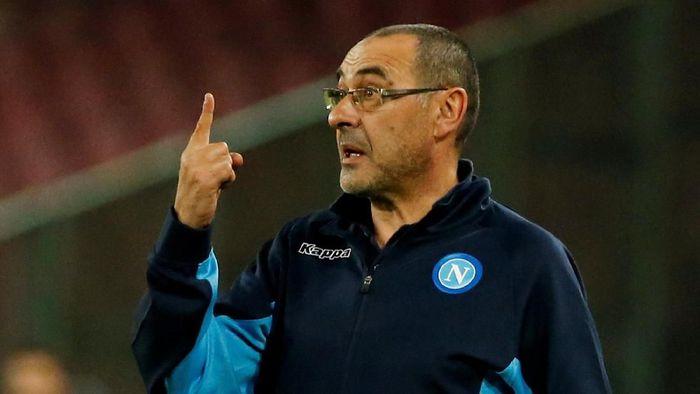 Maurizio Sarri mengaku tak sabar menantikan persaingan dengan para manajer top di Premier League. (Foto: Ciro De Luca/Reuters)
