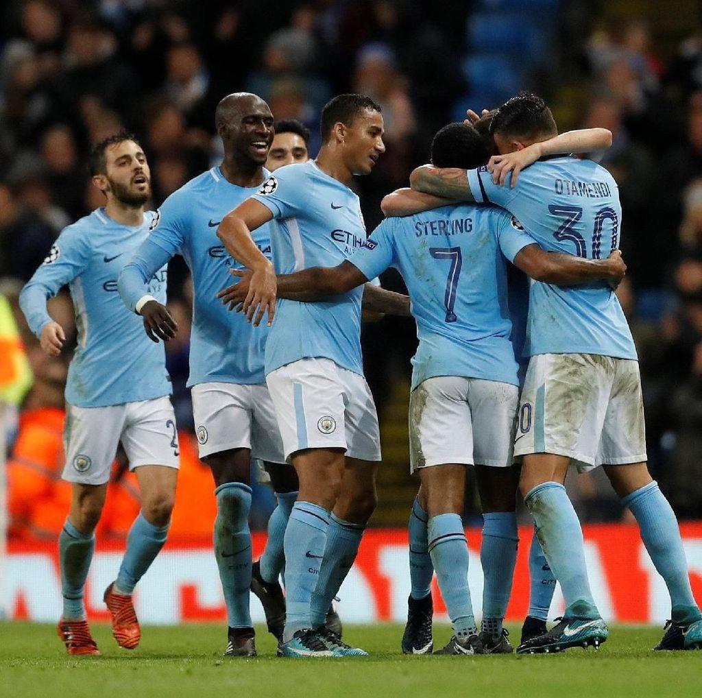 Tentang City yang Masih 100% di Fase Grup Liga Champions