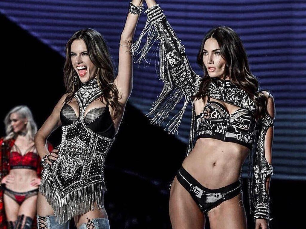 Tak Lagi Diet, Model Victorias Secret Melahap Ini Usai Fashion Show