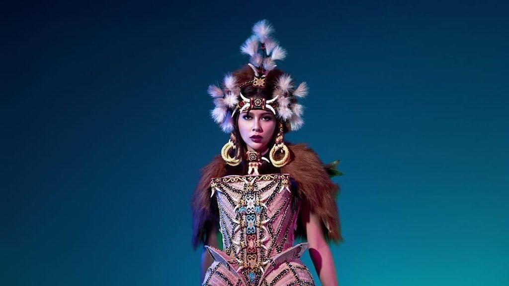 Bunga Jelitha Gagal Lolos 16 Besar Miss Universe 2017