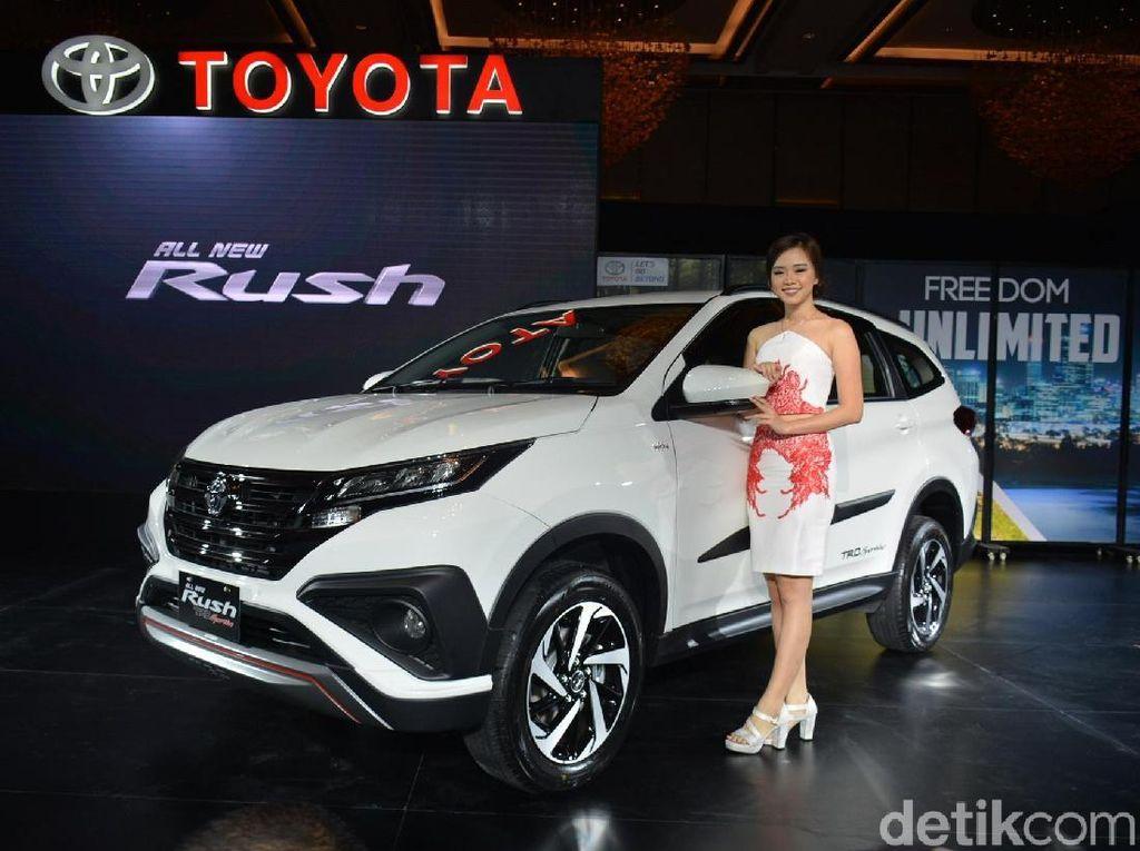 Toyota: Rush Tidak Naik Harga, Sama dengan Model Sebelumnya