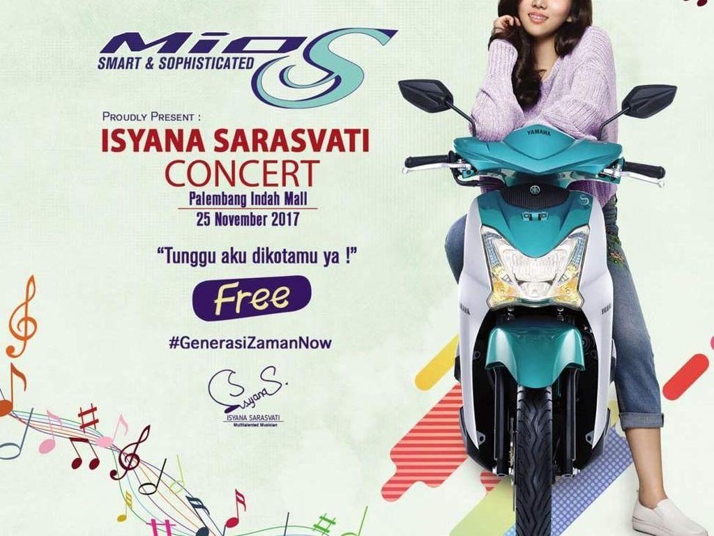 Ini Waktunya Lebih Dekat dengan Mio S & Isyana Sarasvati di Palembang