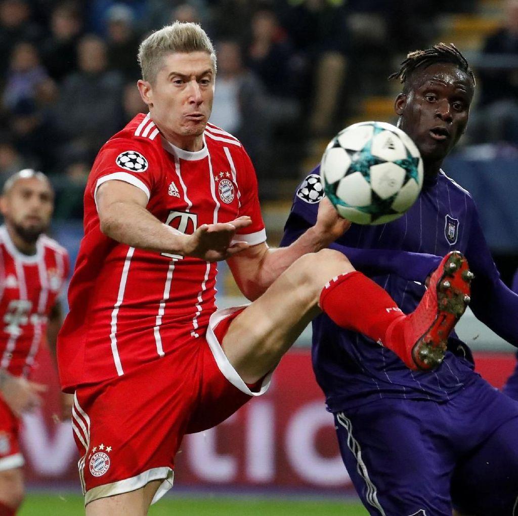 Bayern Menang Tipis atas Anderlecht