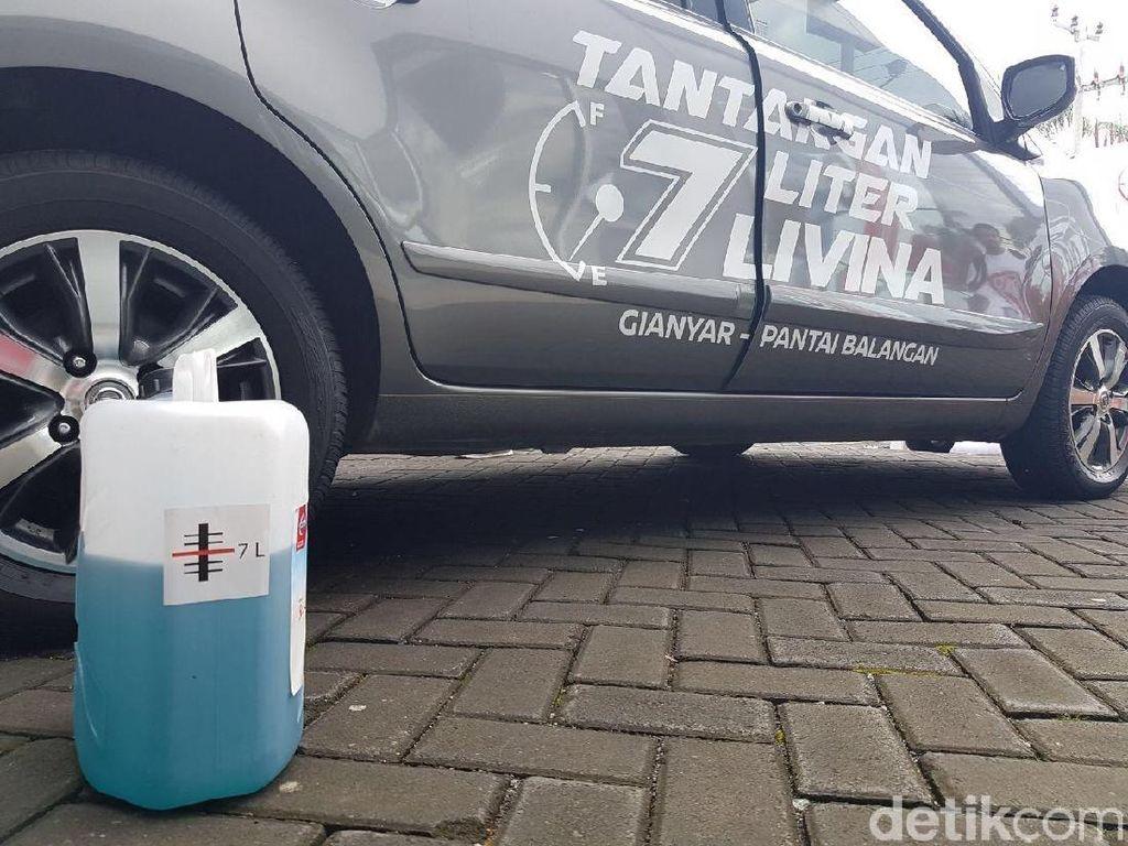 Modal 7 Liter Bensin, Nissan Grand Livina Sukses Jelajahi Bali