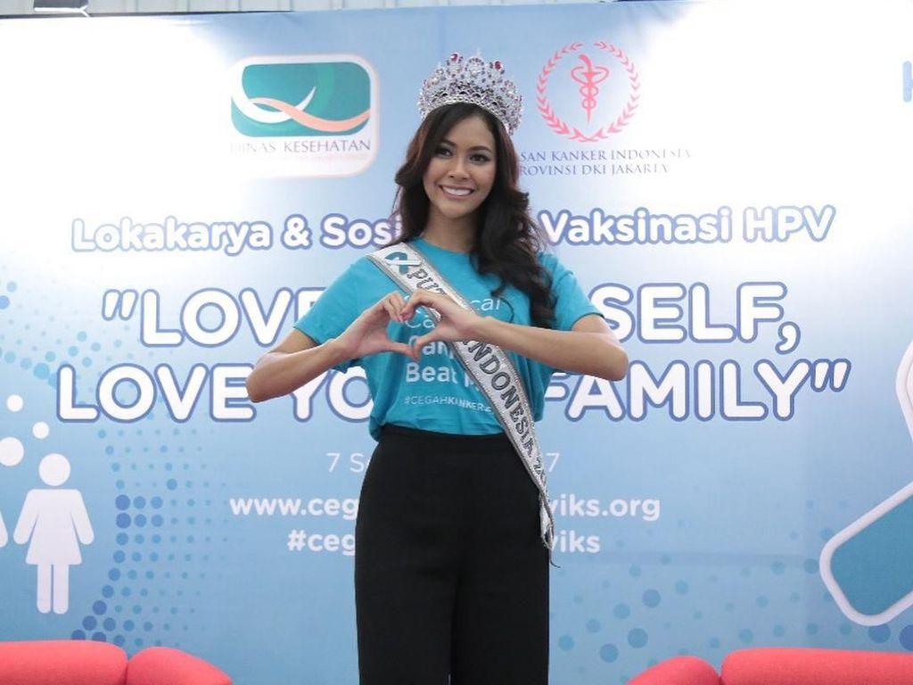 Mengintip Gaya Hidup Sehat Bunga Jelitha, Putri Indonesia 2017