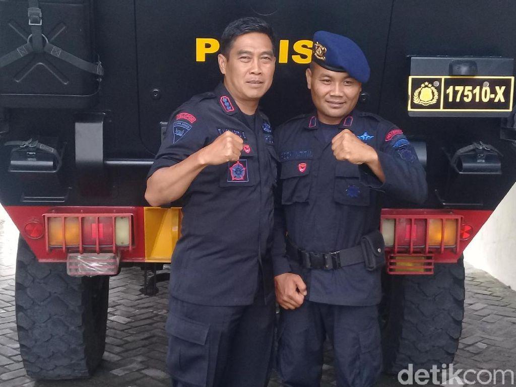 Punya 64 Anak Asuh, Brigadir Rochmat Diberangkatkan Umroh