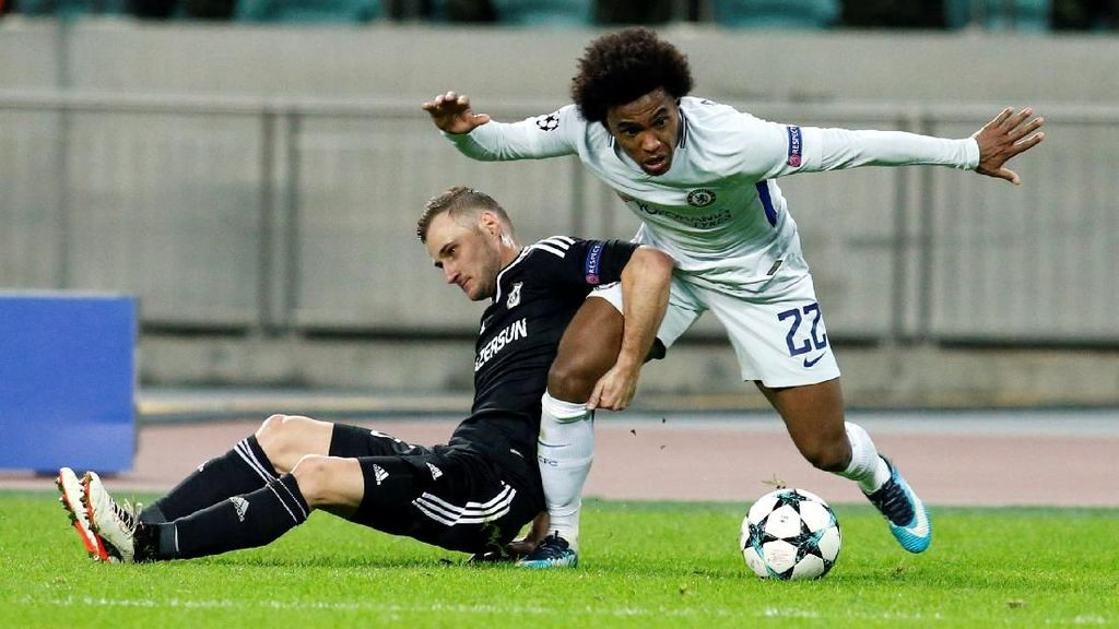 Sinar Terang Willian di Baku