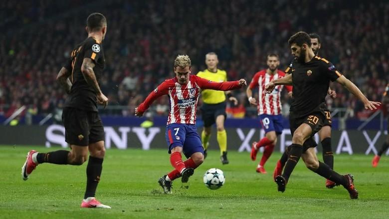 Belum Ada Gol di Laga Atletico vs Roma