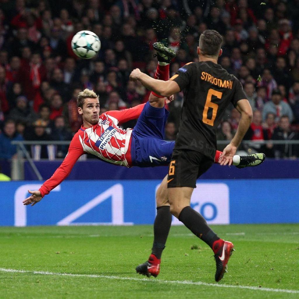 Kalahkan Roma, Atletico Buka Peluang Lolos