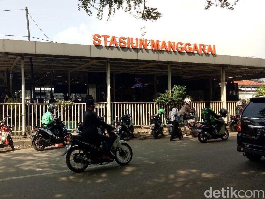 Diduga Pencopet, Pria Ini Dipajang di Stasiun Manggarai