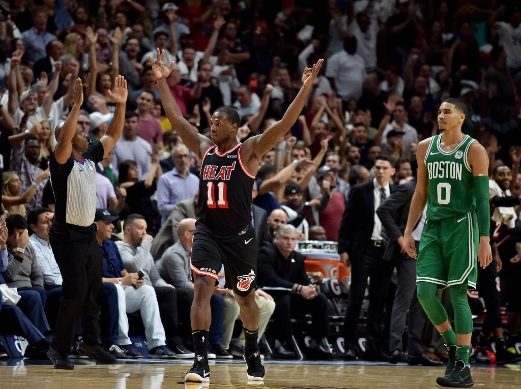 Heat Hentikan Rentetan Kemenangan Celtics