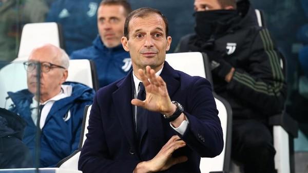 Allegri Puji Pertahanan Juventus