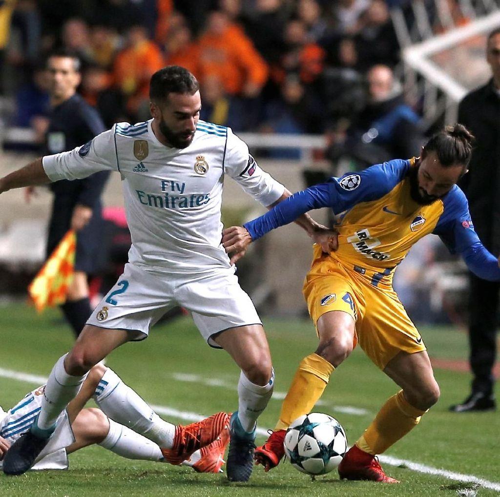 Madrid Akan Banding Hukuman Carvajal