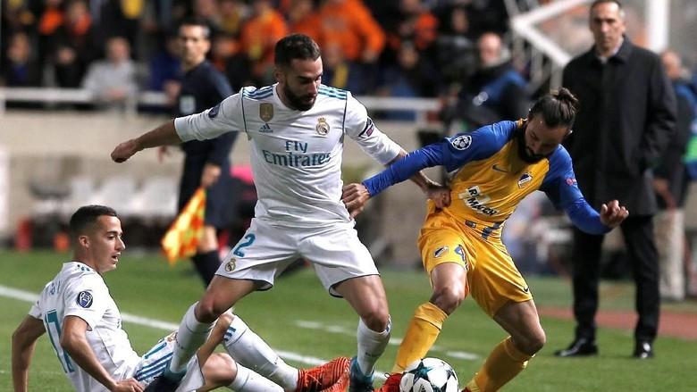 Sengaja Cari Kartu Kuning, Carvajal Dihukum UEFA