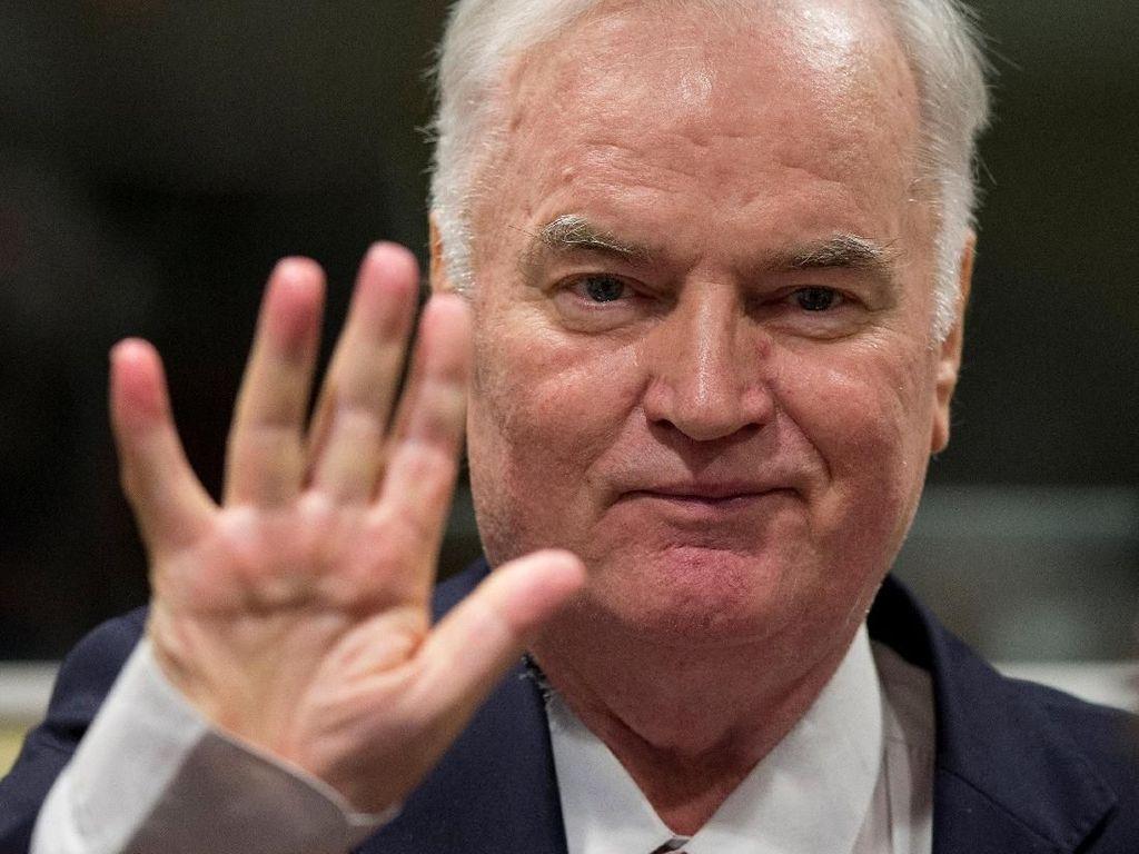 Ratko Mladic Si Jagal Bosnia Divonis Setelah Diadili 4 Tahun Lebih