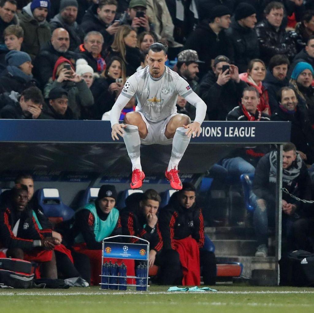 Ibrahimovic Bikin Rekor Baru di Liga Champions