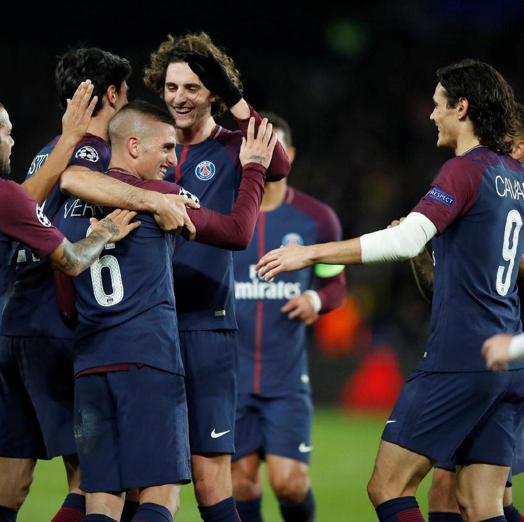 PSG Pecahkan Rekor Gol di Fase Grup Liga Champions