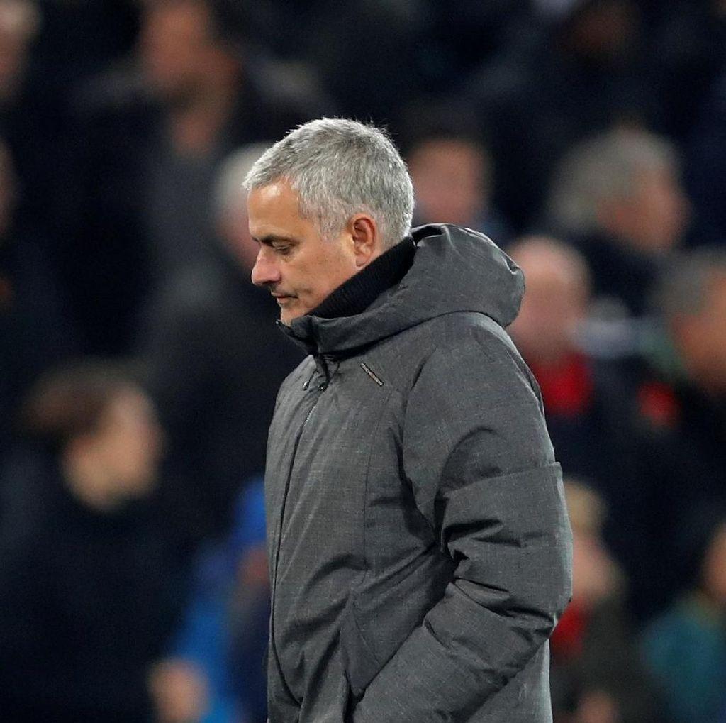 Mourinho Keluhkan MU yang Kurang Produktif Belakangan Ini