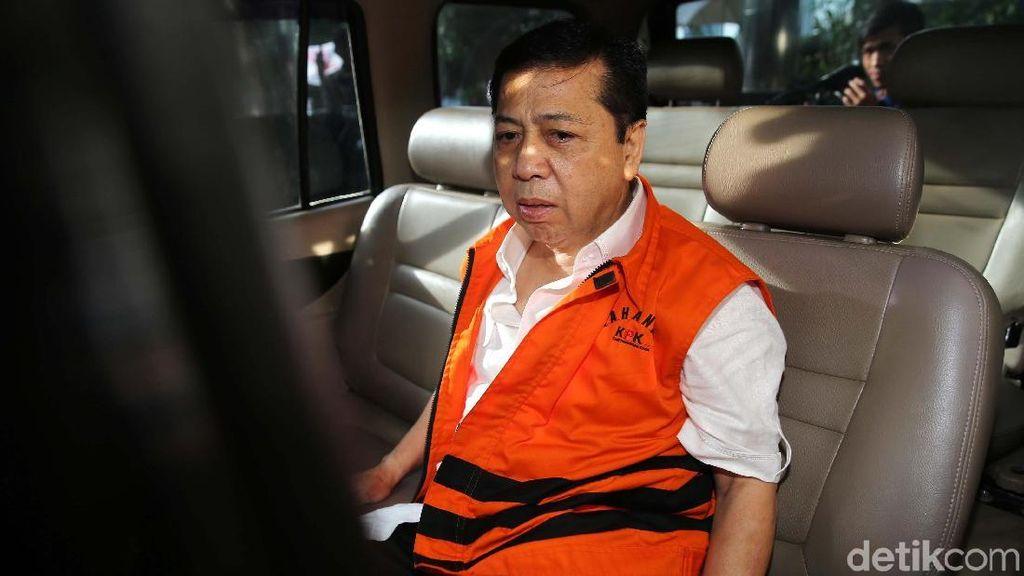 Saksi Meringankan Novanto: dari DPR hingga Politikus Golkar