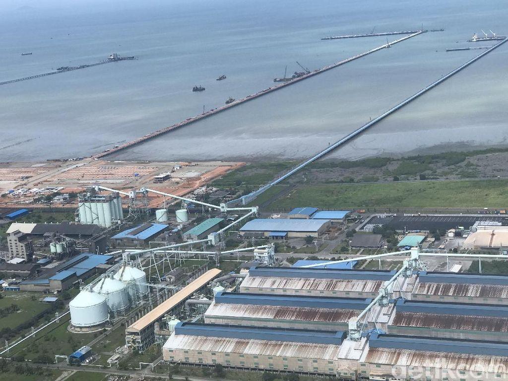 Proyek Pelabuhan Kuala Tanjung Tahap II  Rp 12 T Dimulai 2019