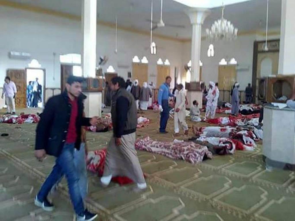 Korban Bom di Mesir Bertambah Jadi 305, Termasuk Anak-anak