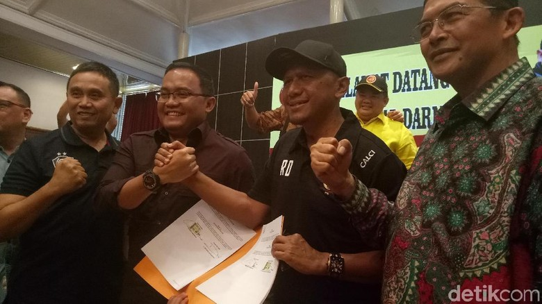 Rahmad Darmawan Resmi Latih Sriwijaya FC