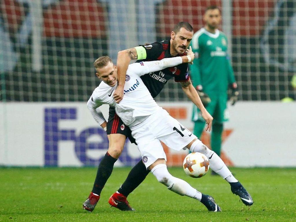 Blunder Horor Bonucci di Pesta Kemenangan Milan