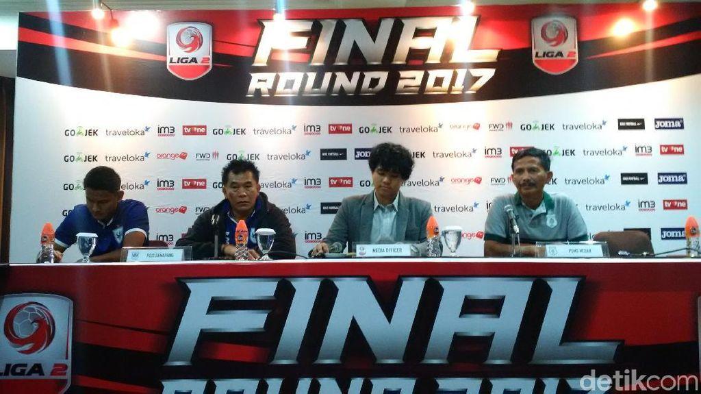 PSMS dan PSIS Akan Habis-Habisan di Semifinal Liga 2