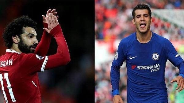 Salah vs Morata, Siapa Lebih Penting untuk Timnya Masing-masing?