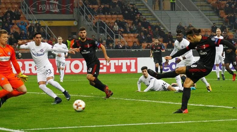 Sinar Andre Silva dan Cutrone dalam Pesta Gol Milan di San Siro