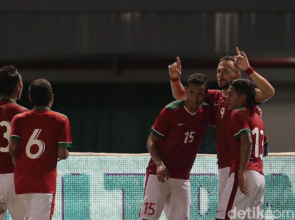 Sempat Tertinggal, Indonesia Sementara Imbangi Guyana 1-1