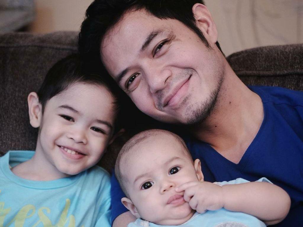 Dude Harlino Tetap Utamakan Keluarga Meski Sibuk